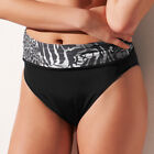 NEW Fantasie Swimwear Nairobi Fold Top Bikini Brief Black 5471 VARIOUS SIZES