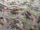 100% Polyester High Grade Crinkle Chiffon Printed Dress Fabric £3.99/m floral