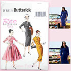 Butterick 5813 Sewing Pattern - Misses' Vintage Dress  Retro 1950's Reproduction