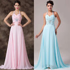 Quinceanera Ballgown Evening Prom Cocktail Party Bridesmaid Long Dress Size 6-20