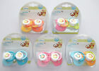 Disney Winnie the Pooh Tigger dummy soother 2pk baby girl boy silicone teat