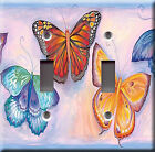 Light Switch Plate Cover - Butterflies spring summer - Butterfly insect wing sky