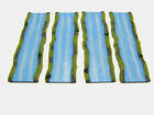 Wargames Terrain/Scenery 15mm/28mm River Sections x 4 - Flames of War, BG Kursk