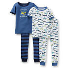 "Carter's Boys 4 Piece ""Mommy's Ace Daddy's Wingman"" and Airplane Print Short Sle"