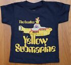The Beatles Yellow Submarine Title logo Toddler Kid Boy T-shirt top 2T 3T 4T 5T