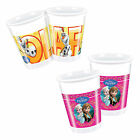 DISNEY FROZEN Princess Birthday Party Tableware Supplies Cup Plastic Cups x8