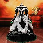 [VOCALOID] MIKU Cosplay Costume Cantarella Black Lace Luxury Gown  Long Dress 65