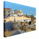 Seaside Village of St. Ives, Cornwall Canvas Art Cheap Wall Print Any Size