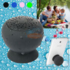 Waterproof Bluetooth Speaker Mic Silicone Suction Cup for Iphone Samsung Tablet