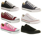 Converse All Star Chuck Taylor Ox Maroon  White Unisex Trainers Shoes