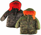 iXtreme Toddler Boys Camo Puffer Winter Jacket Coat size 2T 3T 4T
