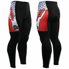 FIXGEAR mens womens bike SKULL cycling tights 18mm silicone pad full pants