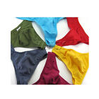 6 COLORS Sexy Mens Low Rise G-String Underwear Thongs T-back Briefs Underpants