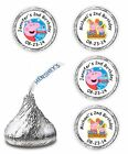 PEPPA PIG BIRTHDAY PARTY FAVORS KISSES LABELS STICKERS DECALS ENVELOPE SEALS