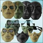 Cool Paintball Hunting Game Airsoft Skull Skeleton Mask Full/Half Face Protector