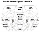 Cut for Ducati Motorbikes - 3M Scotchgard Paint Protection Full Bike Clear Kits