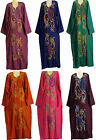 Egyptian Cotton Embroidered  Kaftan Caftan Dress Jilbab Galabeya  Abaya Islamic