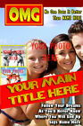 Personalised Magazine Cover Any Photo, Any Text, A6 up to A3 Photo Wall Poster