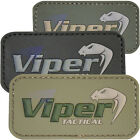Viper Tactical Logo Rubber Velcro Army Military Airsoft Novelty Paintball Patch