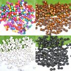 1000Pcs Mixed Wood Tube Spacer Charms Beads 6*7MM - Choose Colour