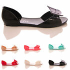 NEW LADIES WOMENS JELLY JELLIES FLAT SUMMER BUTTERFLY PASTEL SANDALS SHOES SIZE