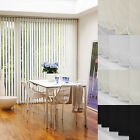 MADE TO MEASURE COMPLETE VERTICAL BLIND SET - CUSTOM MADE - 4 STYLES / 3 COLOURS