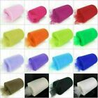 """6"""" 25 Yds Tutu Tulle Roll Spool Craft Fabric Gift Wrap Wedding Party Decorations"""