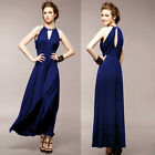 Elegant Ladies Halter Long Maxi Cocktail Party Gown Prom Summer Evening Dresses