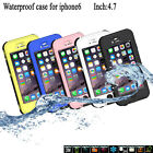 New Waterproof Durable Skin With Button Keys Case Cover For Apple iPhone 6 4.7""