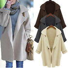 Women Oversized Knit Sleeve Sweater Coat Knitwear Loose Cardigan Jacket Outwear