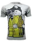 *UK Fit Breaking Bad Lego Inspired Harzard Suit Men's Grey Organic T-shirt