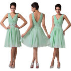Sexy Short Wedding Bridesmaid Evening Cocktail Party Prom Homecoming Dress 2-16