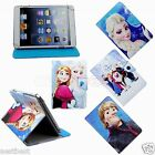 Cute Frozen Kids Cartoon Leather Case Cover For 7 7-inch Android Tablet
