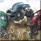 Light Switch Plate Cover - Monster truck machine - Motor car road action racing