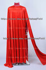 Star Wars Cosplay Red Royal Guard Cloak Dress Costume Halloween Convention