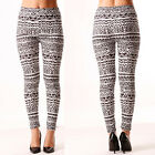 LEGGINGS ELASTICIZZATI neri L/XL LEGGINS aderenti tendenza fashion stretch bfb