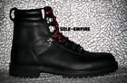 Timberland Mens NORDICHKRTALL Black Leather Winter Boots ...