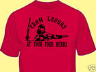 T-Shirt, Vintage Classic Motion Picture, Red, Gildan, Conan, Crom Laughs at...  image