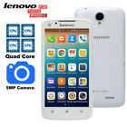 "Unlocked 5.0"" Lenovo A388T Quad Core Android Smartphone Wifi Bluetooth GPS *USA*"