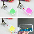 For Samsung Galaxy S5 S4 Note3 Flowable Liquid Swimming Fish Transparent Case