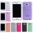 1 Pcs Ultra-thin 0.5mm Transparent Matte Cover Case For Samsung Galaxy S2 i9100