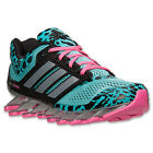 adidas Springblade Drive Mint Black Silver Comfortable Mesh Womens Running Shoes