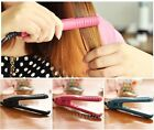 Womens Lady Hair Salon Ceramic Curly/Straight Curler Curling iron Wave Wand hot