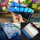 Mirror Effect Front + Back Color Tempered Glass Screen Protector For iPhone 6