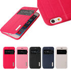"""New Flip PU Leather Hard Back Skin Case Cover For Apple 4.7"""" iPhone"""