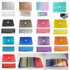 Rubberized Crystal PC Hard Case shell +Gift For New Macbook Pro 13 15 /2014-2008