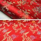 Dragon&phoenix silk retro wedding dress satin decoration fabric cushion pillow