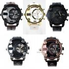 Cool Original Men's Stainless Steel Dial Synthetic Leather Wrist Watch 5 Styles
