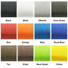 Dia. 2mm 3-Strand Core Paracord for Parachute Cord Knife Lanyard Tent Belay Rope