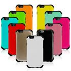iPhone 6 Armor tough heavy duty combo silicone skin/hard back case gloss finish